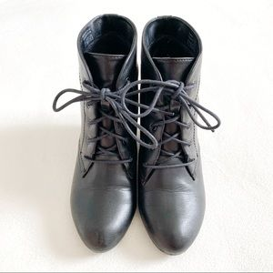 Spring Lace-Up Boots